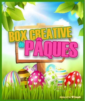 2 Box créatives de Pâques...