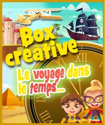 """2 Box créatives """"VOYAGE..."""