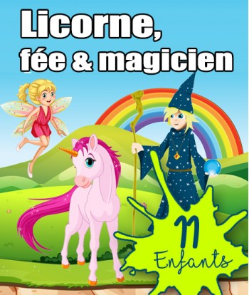 Box Licorne 11 enfants