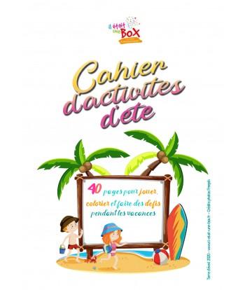 Carnet d'activités d'été