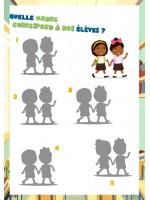 """Le cahier d'activités PDF spécial """"Rentrée des classes"""" pour les enfants de 5 à 10 ans"""