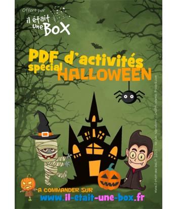 PDF sur le thème d'Halloween