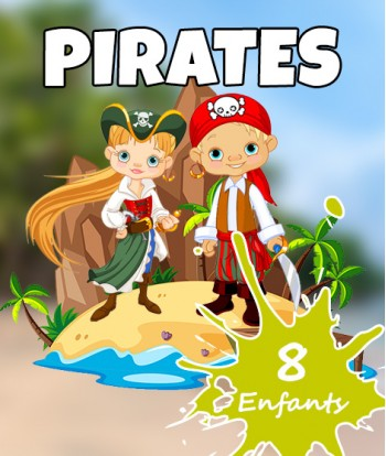 Box Pirates 8 enfants